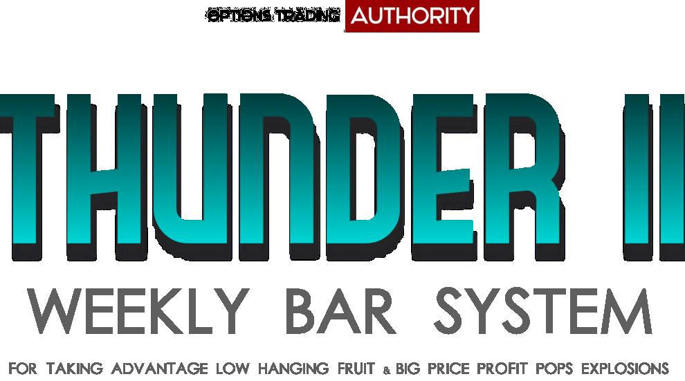 THUNDER2 Weekly Bar System