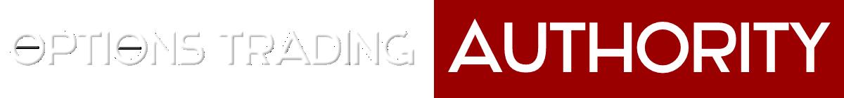 Options Trading AUTHORITY Logo 12 long White